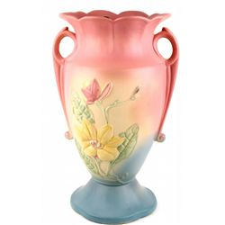 Excellent Hull Magnolia double handle vase 1946-1947