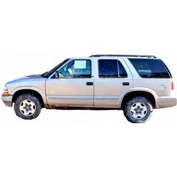 2002 Chevrolet Blazer LS 4 door four wheel drive