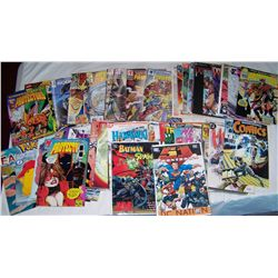 LOT OF 60 ASSORTED SUPER HERO COMICS