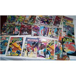 LOT OF (60) ASSORTED SUPER HERO COMICS