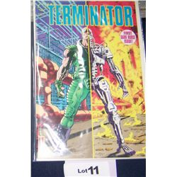 """THE TERMINATOR"" ISSUE #1 1990 . MINT CONDITION"