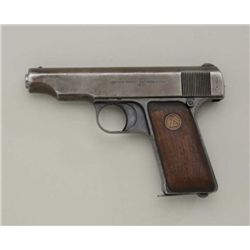 ORTIGIES PATENT BY D.W.M.  32 CAL SEMI-AUTO  #35963 DWM WAS A HUGE GERMAN COMPANY THAT  MANAFACTURED