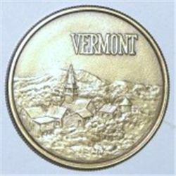 1977 VERMONT BICENTENNIAL OFFICIAL MEDALLON COIN *RARE MS HIGH GRADE-HARD TO FIND*!!