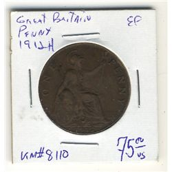 Great Britain Penny 1912H EF-40.