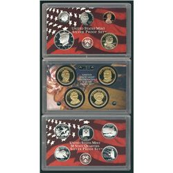 United States 2008, Silver Proof Mint Set.