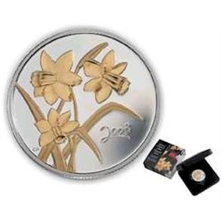 2003 Golden Daffodil 50 Cent in original packaging.