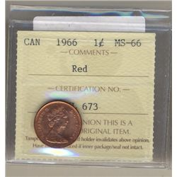 Cent 1960, ICCS MS66; Red.