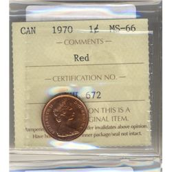 Cent 1970, ICCS MS66; Red.