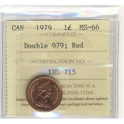 Cent 1979, ICCS MS66; Red Double 979.