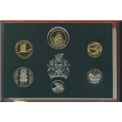 1994 New Zealand Proof Set 6 coins.