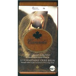 2004 $8.00 The Great Grizzly Limited Edition Stamp and Coin set.