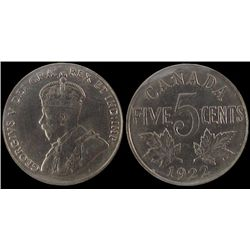 1922 5 Cents ICCS MS-65.