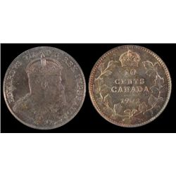 1902 10 Cents ICCS MS64.
