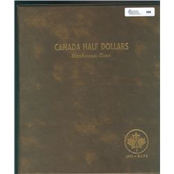 50 Cents 1968 to 2001 EF to UNC & 1982 to 2012 PL to Proof;  both sets in Unisafe albums.