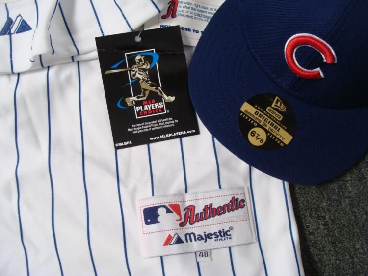 ... Image 3   Authentic Chicago Cubs Carlos Zambrano Jersey and Hat c8f137434e4