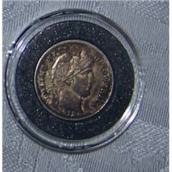UNCIRCULATED 1912-D BARBER DIME CHOICE CONDITION