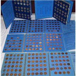 (5X$) LINCOLN MEMORIAL & WHEAT PENNY BOOK-KEY DATES WITH UNCIRCULATED & MINT STATES INCLUDED