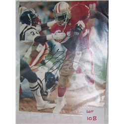 SAN FRANCISCO 49ER'S  RICKEY WATTERS #32 SIGNED PICTURE