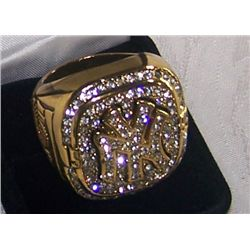 1999 NEW YORK YANKEE'S REPLICA WORLD CHAMPIONSHIP RING