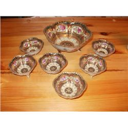 7 PC. NIPPON NUT DISH SET