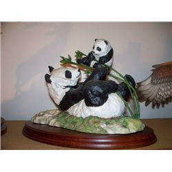 """PRIDE AND JOY"" BY D. J. SHINN - GIANT PANDA AND BABY"
