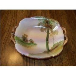"NIPPON 7"" BOWL W/COUNTRY SCENE"