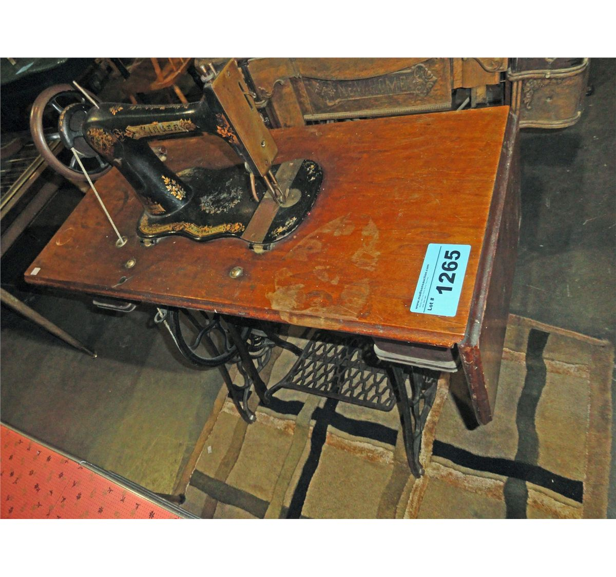 early 1900 singer sewing machine