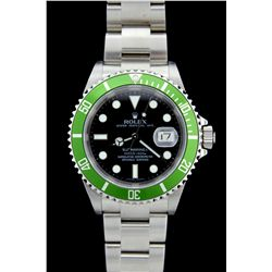 WATCH: (1) Rolex 50th Anniversary edition stainless steel Submariner series. Bracelet 93250 Oyster w