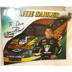 Hermie Sadler Autographed With COA