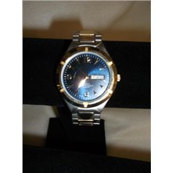 Stainless Steel Water Resistant Gold/silver Watch