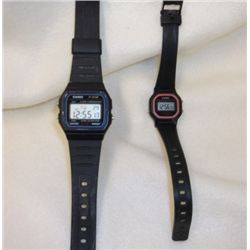 2-Casio Watches 1-Men's - 1- Women's