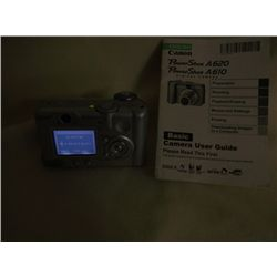 Canon Power Shot A620 Digital Camera
