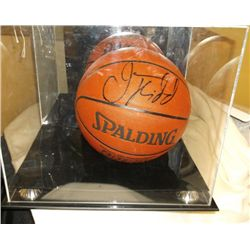 Jason Kidd # 5 N.Y. Knicks Signed Basketball