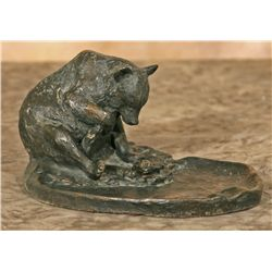 George Phippen, bronze ashtray