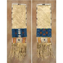 Blackfeet Woman's Beaded and Quilled Pipebag