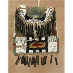 Arapaho Beaded Strike-A-Light Bag