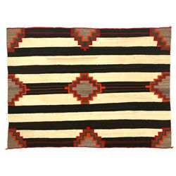 Navajo Third Phase Chief's Blanket, 5' x 4'1""