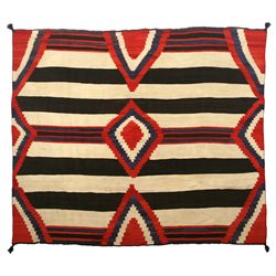"Navajo Third Phase Chief's Blanket, 6'10"" x 5'9"""