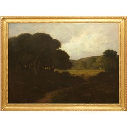 William Keith, oil on canvas