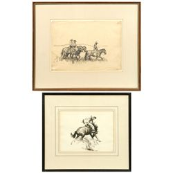 W. H. D. Koerner, two drawings