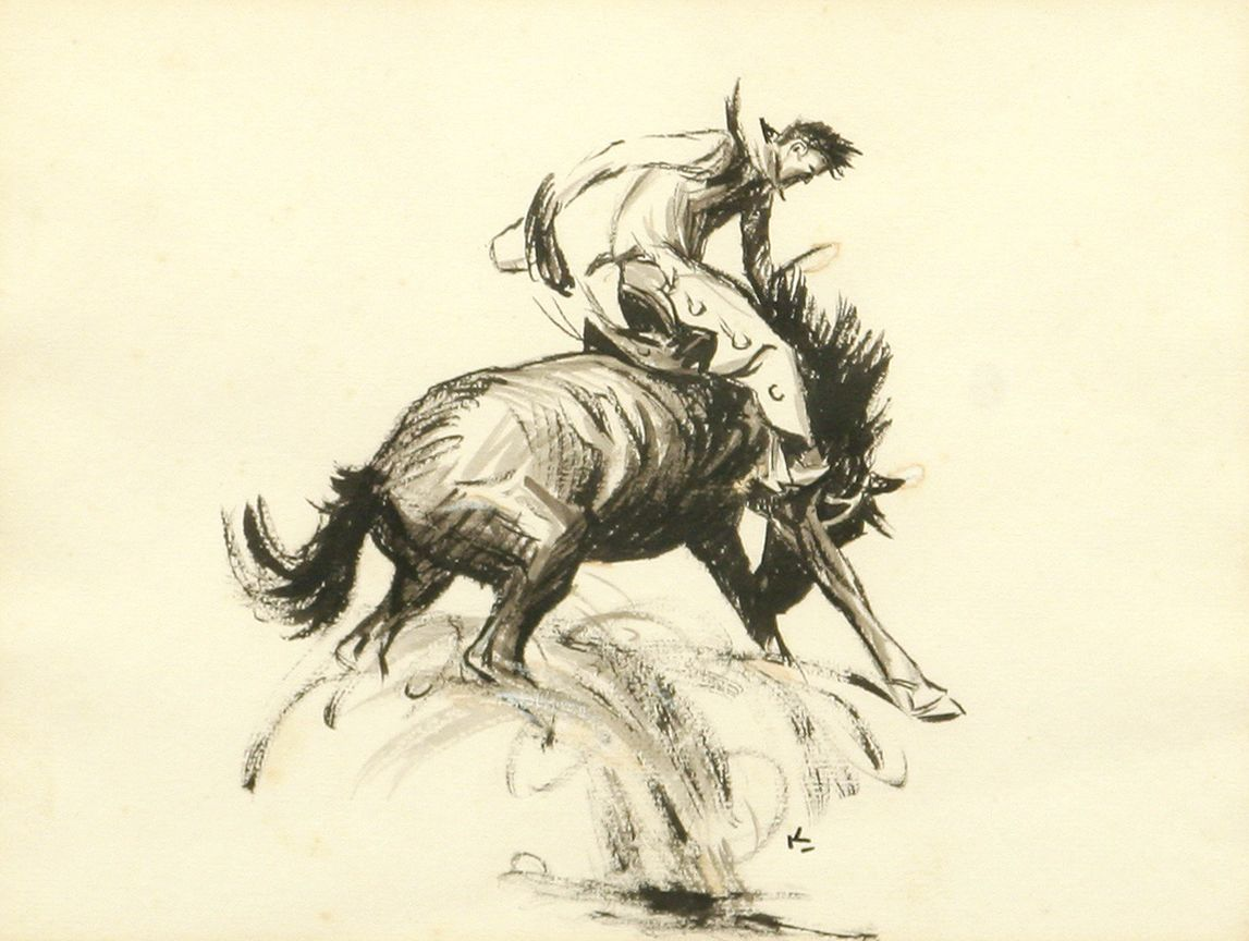 D W w h d koerner two drawings march in montana
