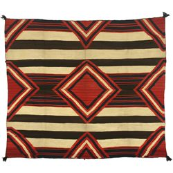 "Navajo Third Phase Chief's Blanket, 5'9"" x 5'"