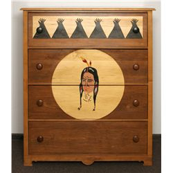 Sweet Water Ranch Chest Of Drawers, Thomas Molesworth