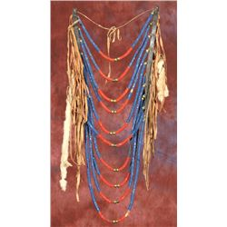 Crow Beaded Loop Necklace