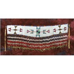 Blackfeet Beaded Martingale