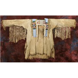 Crow Beaded Warshirt