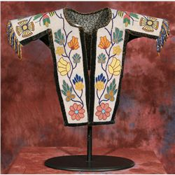 Blackfeet Beaded Child's Cape