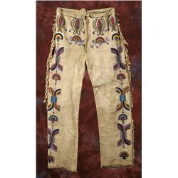Crow Beaded Pants
