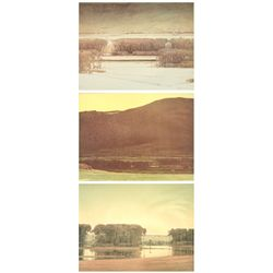 Russell Chatham, portfolio of 3 lithographs