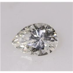 GIA Certified 0.50ct Pear Cut Loose Diamond